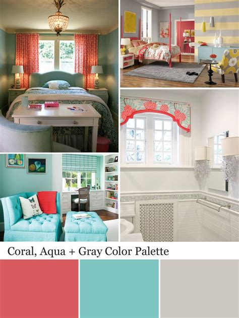aqua bedroom color schemes best 25 gray coral bedroom ideas on pinterest coral bedroom teen bedroom colors