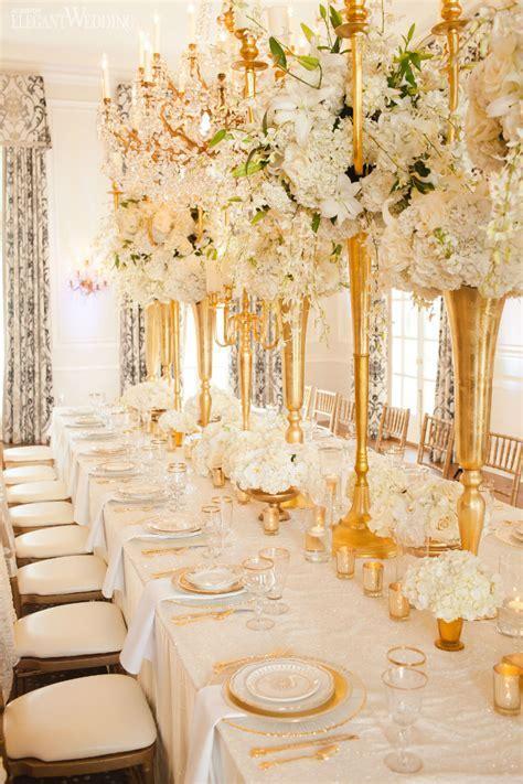 Glamorous Gold and Ivory Wedding Theme   ElegantWedding.ca