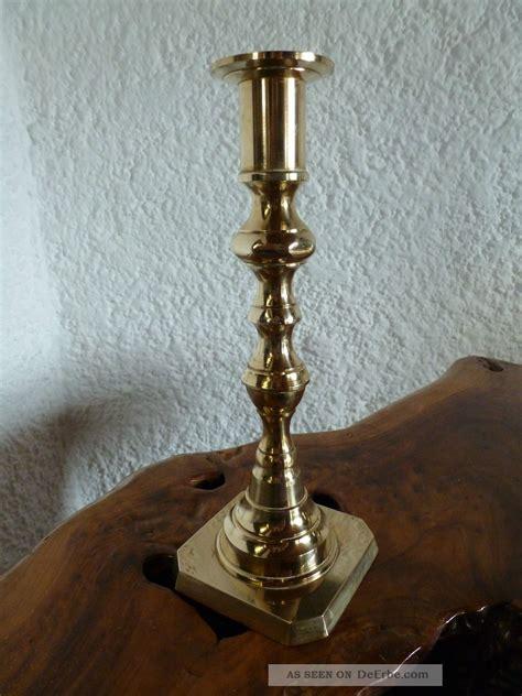 Kerzenhalter Messing Antik by Auf Antik Gemachter Messing Kerzenhalter Kerzenleuchter