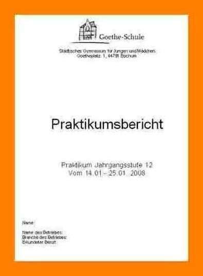 muster deckblatt praktikumsbericht attiyada wood