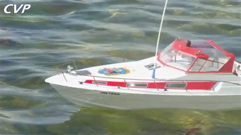 motorjacht remo cvp rc robbe cruise boat san remo the pirate youtube