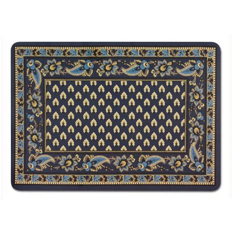 William Sonoma Kitchen Rugs Marseille Cushioned Kitchen Mats Navy Williams Sonoma