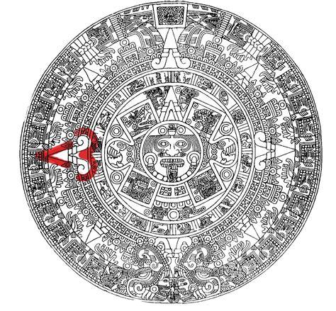 Calendario Solar Azteca Cr 243 Nica De Castas Coraz 243 N