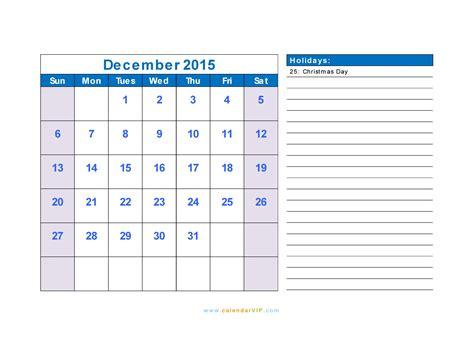 december 2015 calendar blank printable calendar template