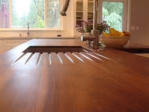 Wooden Kitchen Countertops Diy Butcher Block Countertops For Stunning Kitchen Look