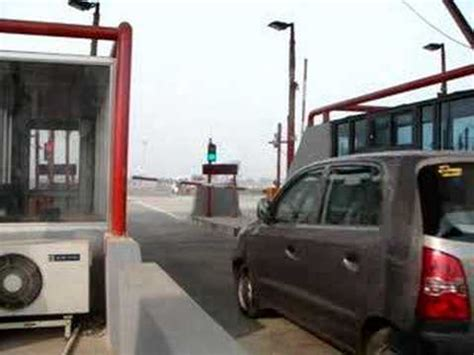 electronic toll collection 2008 lexus is f on board diagnostic system india s first etc electronic toll collection plaza youtube