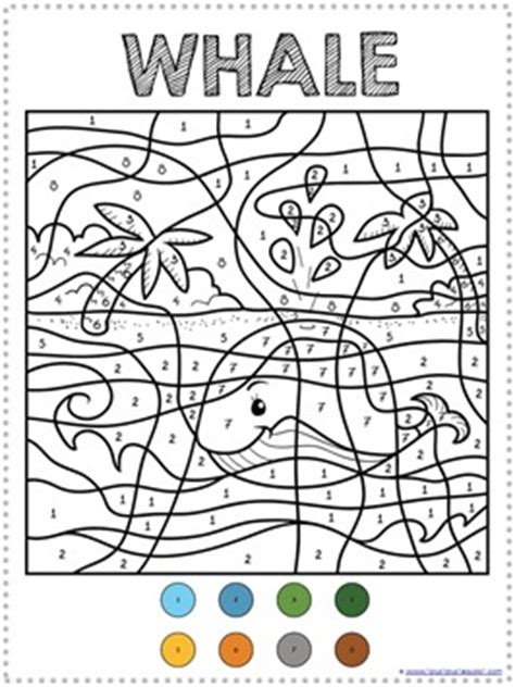 color by numbers animals coloring pages color by number ocean animals coloring pages 1 1 1 1