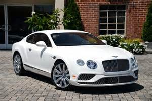 Bentley Coupe White 2016 Bentley Continental Gt Coupe Automatic Glacier White