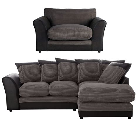 cheap cuddle sofa home harley reg right corner sofa and cuddle chair charcoal