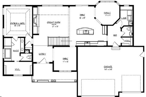 lakehouse floor plans the sunset lake 2189 3 bedrooms the house designers