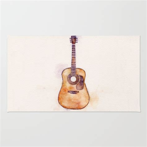 guitar area rug martin guitar area throw rug