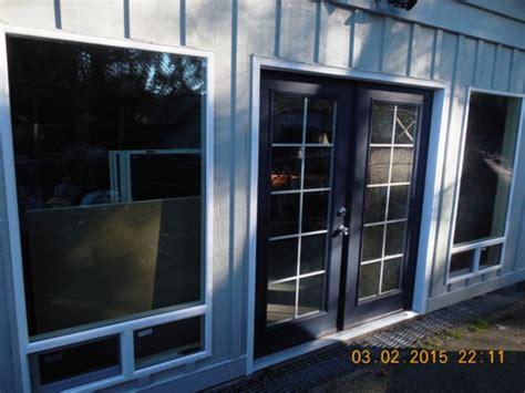 convert garrage door to windows gig harbor home improvement services from handyman mike