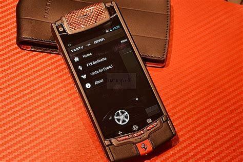 vertu phone ferrari ferrari phone vertu ti ferrari luxury phone review