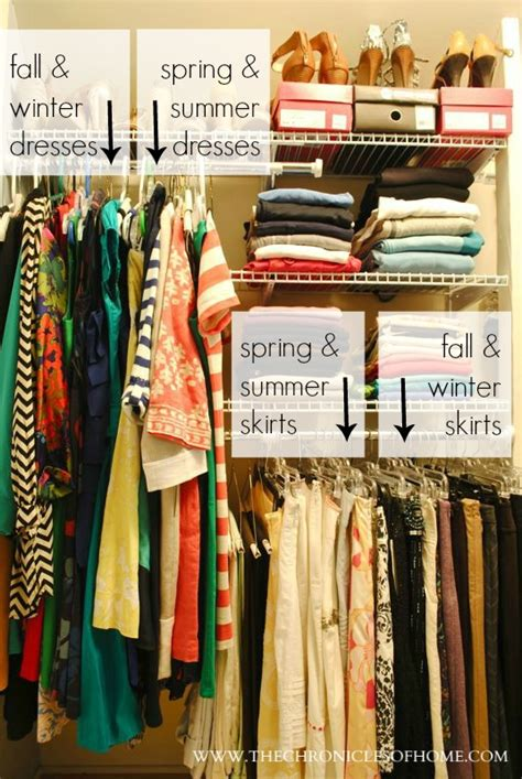 How To Organize A Closet By Color by Closet Organization Without Spending A Dime The