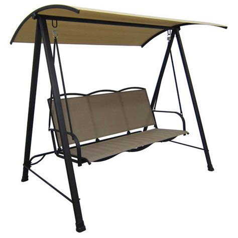 walmart 3 person swing replacement canopy for the sling swing garden winds