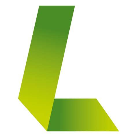Origami Letter L - l letter origami isotype transparent png svg vector