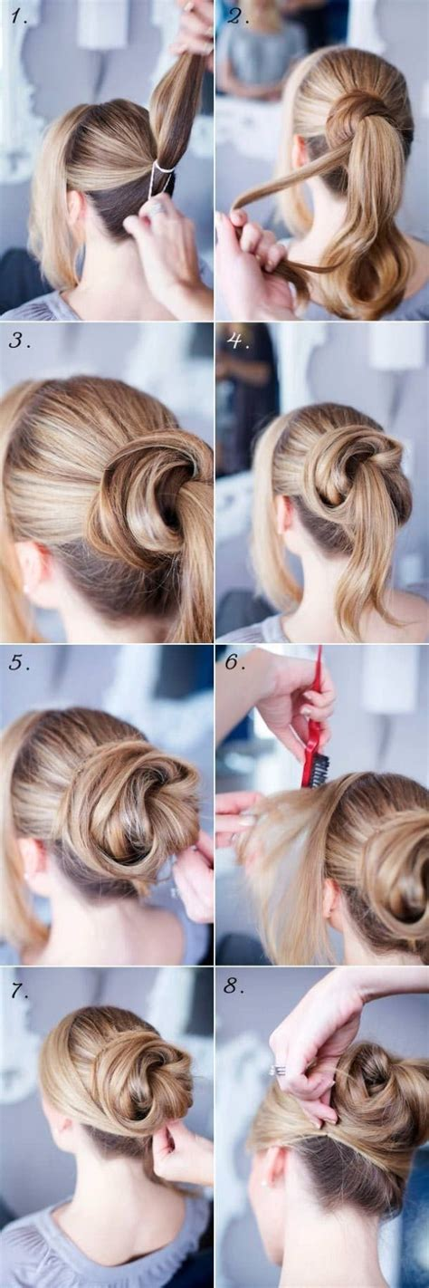 quick  easy everyday hairstyle ideas