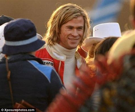 thor film actor name thor actor chris hemsworth plays british racing legend