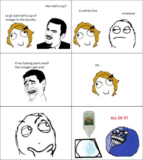 Meme Anal - le wash it with vinegar le rage comics