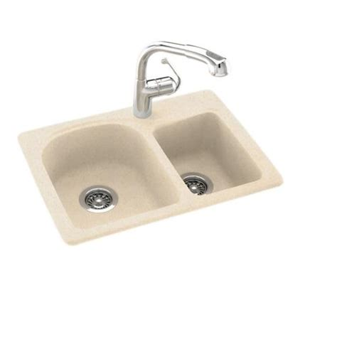 space saving kitchen sink swan space saver 25 quot w x 18 quot d double bowl kitchen sink at
