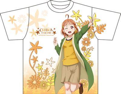 Kaos Anime Lovelive Takami Chika Graphic T Shirt amiami character hobby shop live graphic t shirt a chika takami