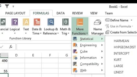 tutorial excel 2013 formulas excel 2013 tutorial 6 formulas part 1 youtube