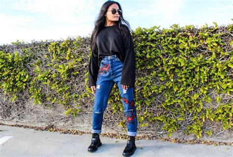 blogger kekinian yuk intip 7 model celana jeans kekinian favorit para