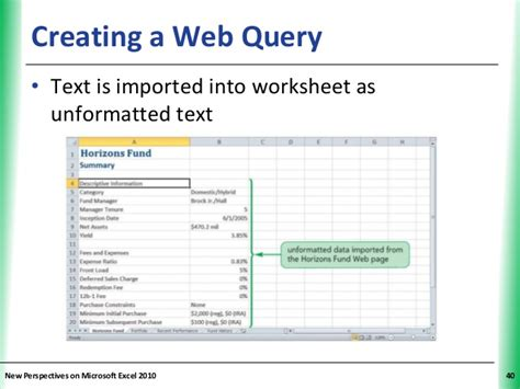 tutorial web query tutorial 11 connecting to external data