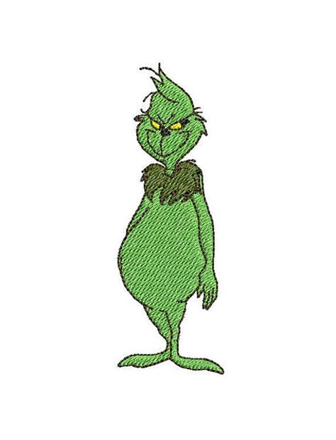 embroidery design grinch grinch machine embroidery download file pes exp dst by