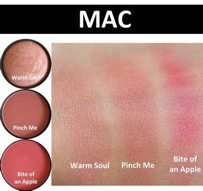 Simply Skin M Pallete 78 Eyeshadow mac warm soul pinch me bite of apple