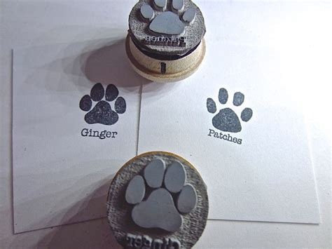 cat paw print rubber st 17 best ideas about paw prints on
