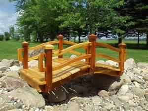 landscaping bridges garden bridges 4 52ft long elegant wooden landscape