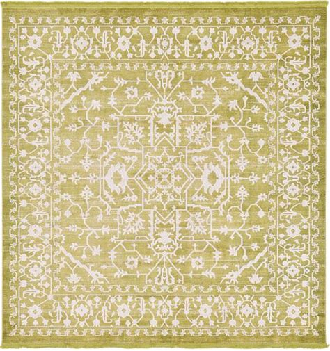 square rugs light green 8 x 8 new vintage square rug area rugs