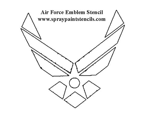 army pattern stencil military stencils