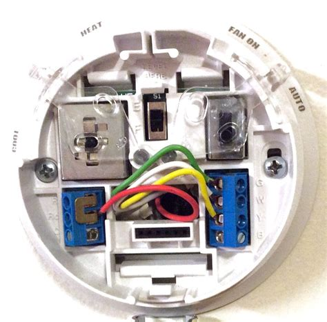 thermostat color code honeywell thermostat wiring color code tom s tek stop
