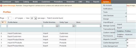 magento csv import template magento product import csv creation sle