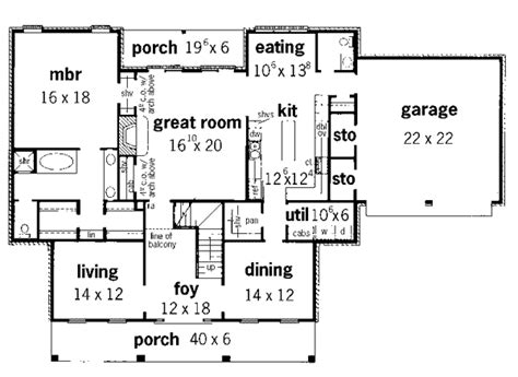 watsonia georgian style home plan 092d 0232 house plans