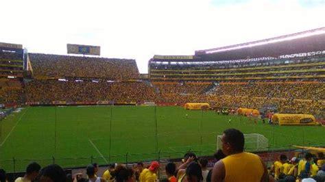 barcelona guayaquil foto tomada en el estadio monumental de barcelona sporting