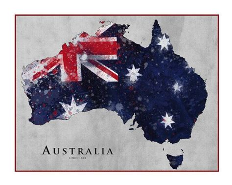 watercolor tattoo queensland australia map watercolor map map of australia