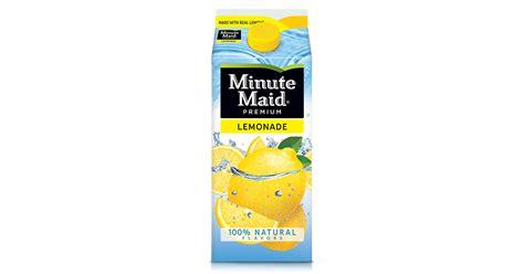 minute maid light lemonade nutrition minute maid lemonade nutrition label nutrition ftempo