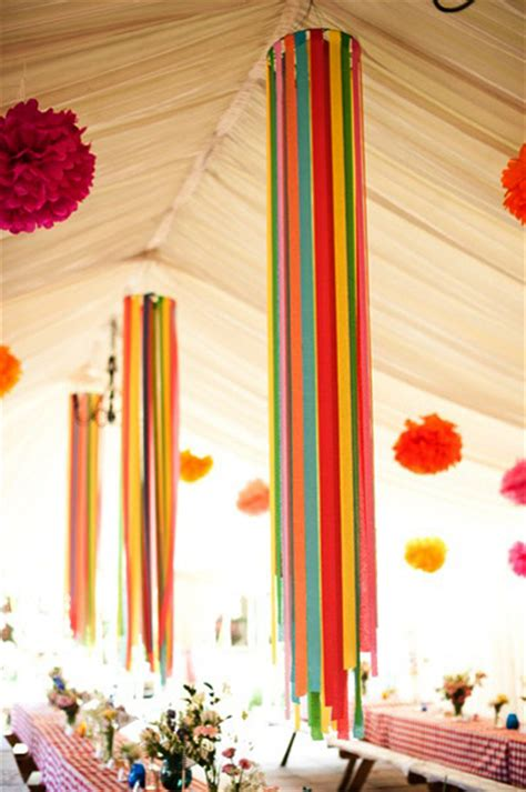 Decorating Ideas Ribbon Five Fresh Ideas For Using Ribbon Streamers At Your