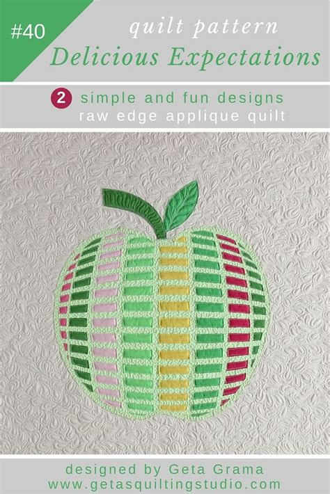 quilting applique patterns easy apple applique quilt pattern for quilts