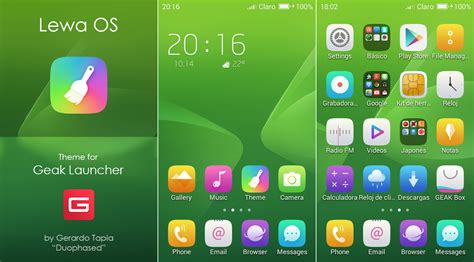 lenovo k8 plus free android theme u launcher 3d lewa os theme for geak launcher by duophased on deviantart