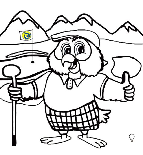 printable golf images golf coloring page coloring home