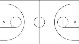 basketball half court template basketball court template cake ideas and designs