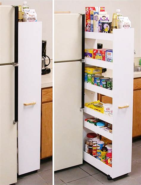 Diy Pull Out Pantry by Diy Renovation Budget Busters Domain