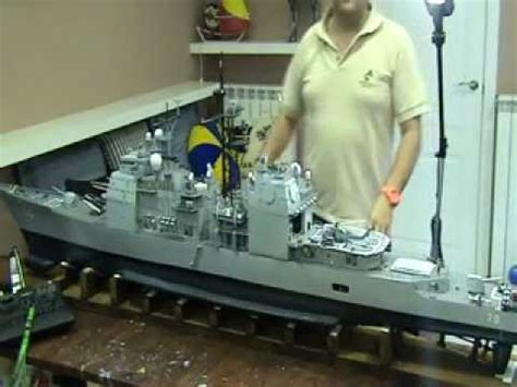 rc boat tower unite navy war ship rc ticonderoga youtube
