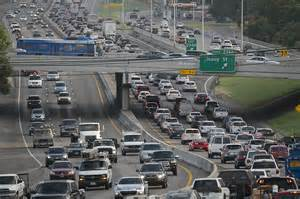 Traffic In Study Commuters Driving Into Worst Traffic In