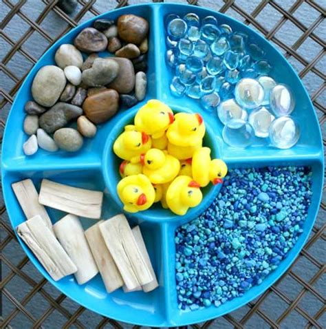 materials for sensory table how to throw a make way for ducklings party brightly