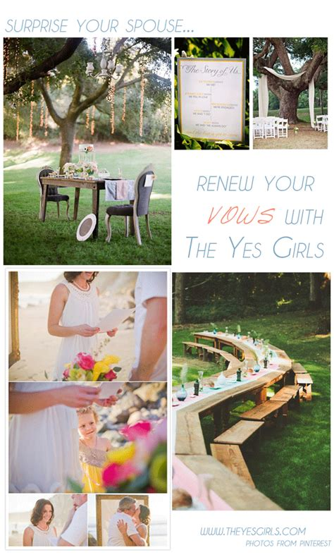 renewing your vows your spouse with the yes package the yes